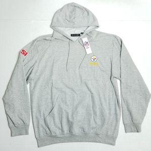 Dunbrooke Gray hoodie sweater - XXL - NFL STELLERS